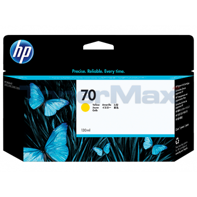 HP DESIGNJET Z2100 NO 70 INK YELLOW 130ML